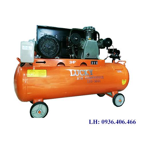 Máy nén khí Lucky 120lit 3HP piston