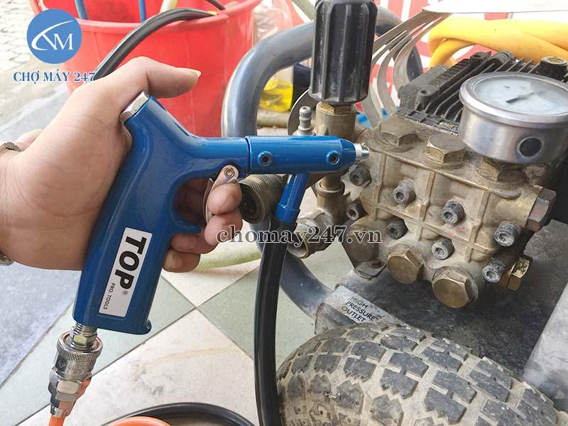 Loại súng phun cát cầm tay khí nén thương hiệu dẫn đầu, hoạt động ổn đinh, độ bền cao